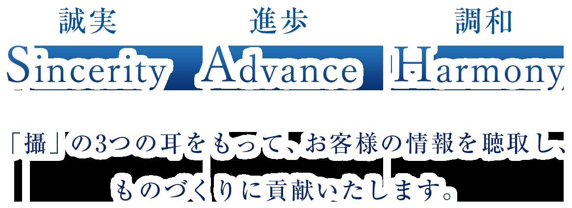 攝南株式会社は、「切る・削る・磨く」でつながる未来を創造し、ものづくりのベストパートナーを目指します。